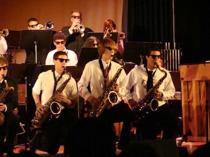 Music students from East rockaway school district lost their intruments due to flooding from Hurricane Sandy.