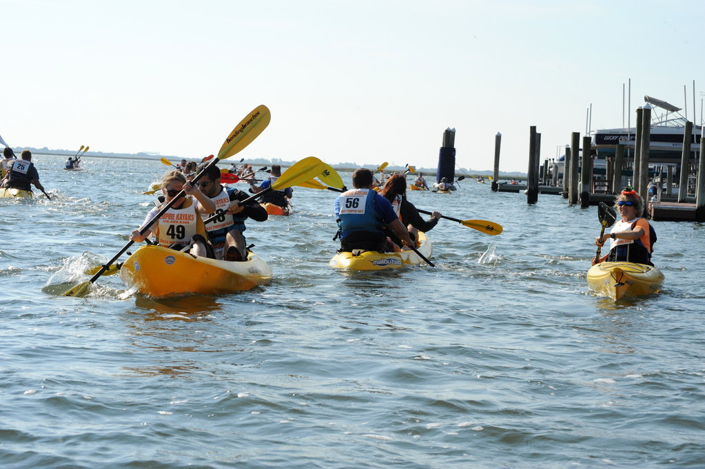 Members of the South Shore Blueway Trail Project Advisory Committee and Going Coastal, Inc. said they hope their project to create a unified water trail along the South Shore of Nassau County will attract more people to the area.