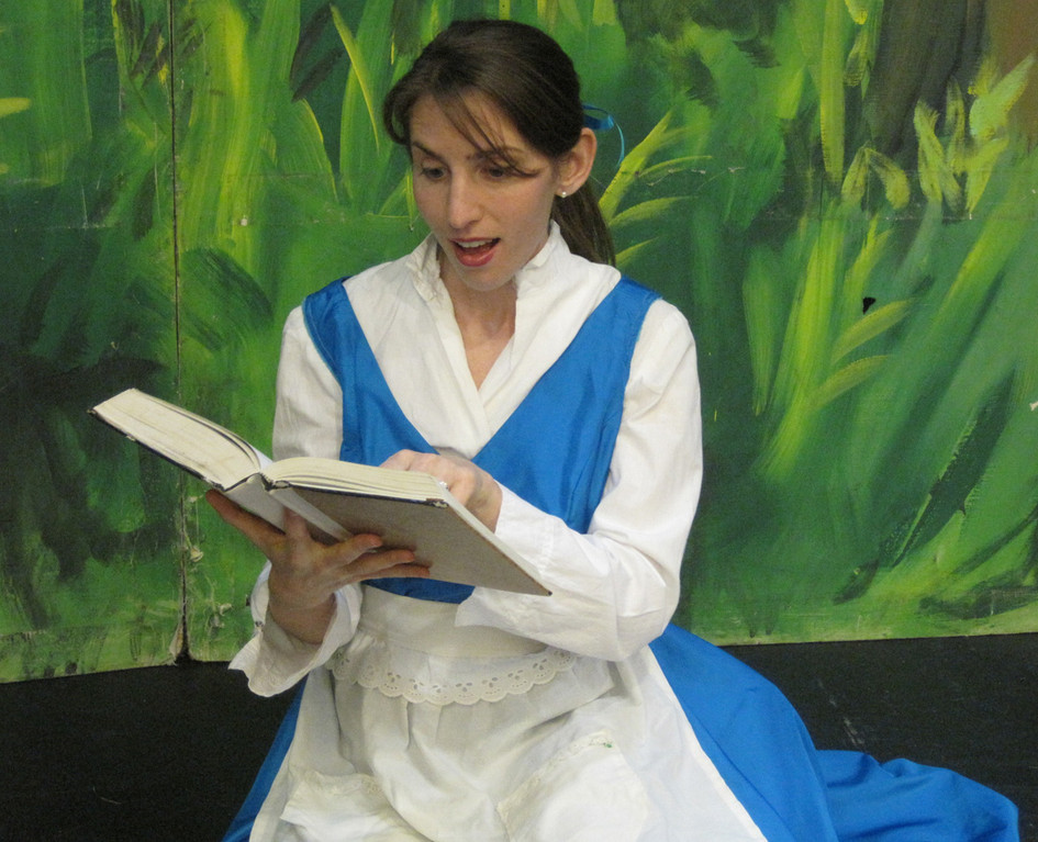 "See Belle transform the Beast in BroadHollow Theatre's ""Beauty & The Beast,"" now being staged in Elmont."
