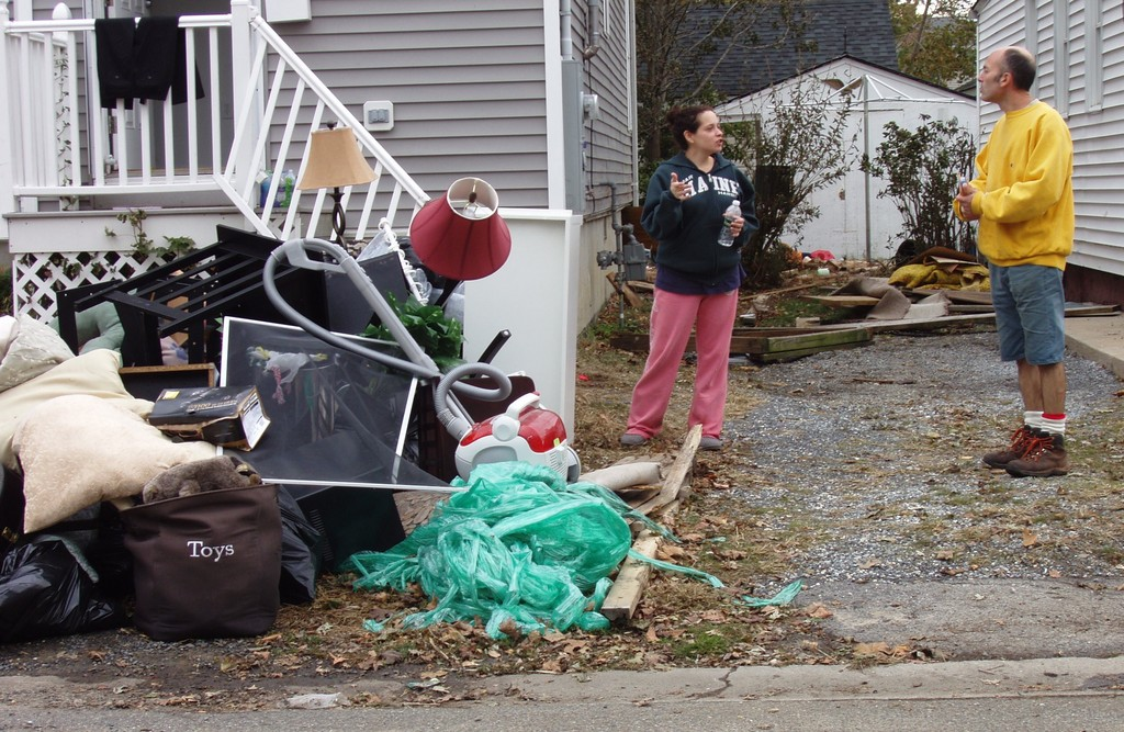 Storm damage can be from wind, flooding or a combination of both. A public adjuster can work with a homeowner to get the most out of their insurance coverage.