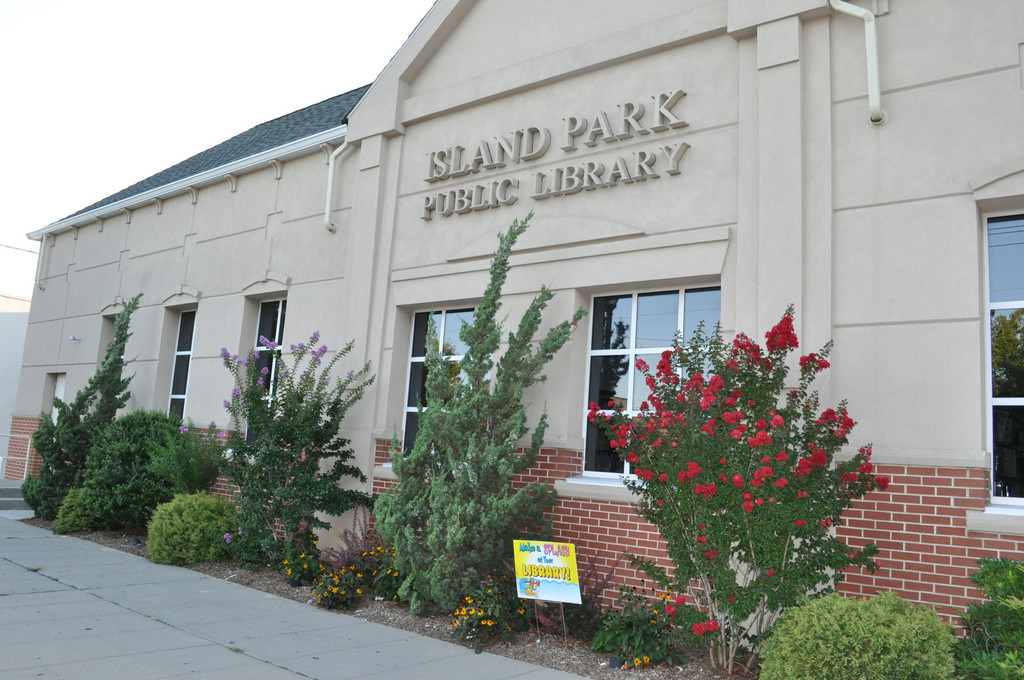 The Island Park Library is in need of much more repair work and will not open until next year.