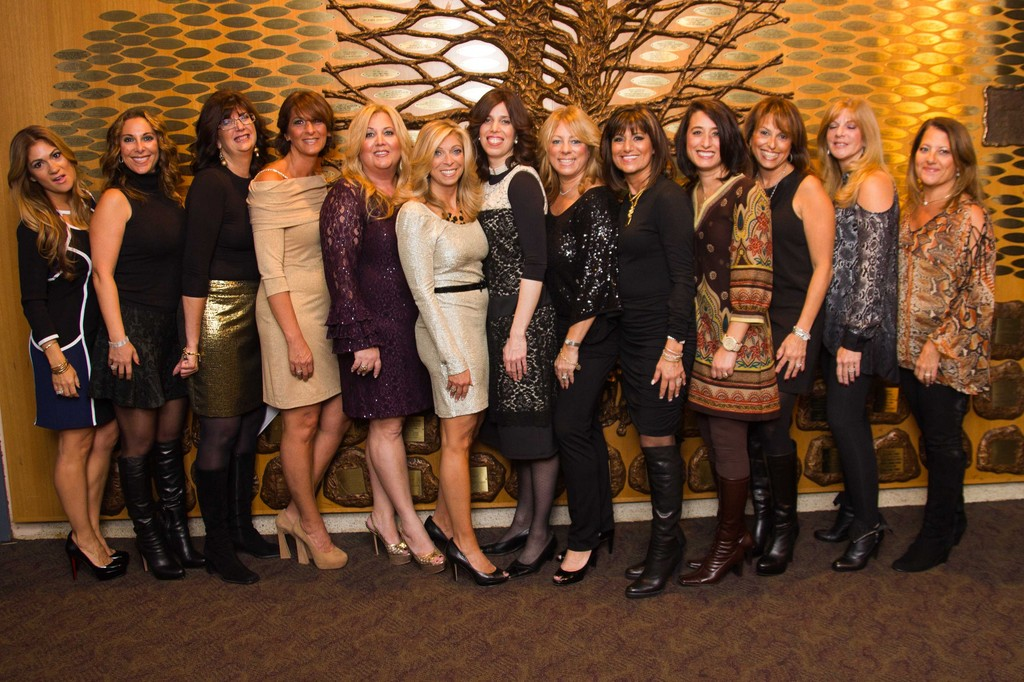 "The ""Journey for a Purpose"" event committee, including Chabad's Chanie Kramer, right, center, at the event."