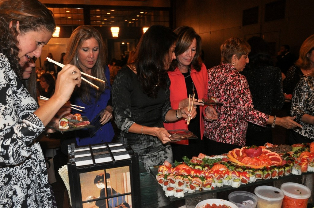 "More than 300 women came out for dinner, entertainment and fundraising at ""Journey for a Purpose."""