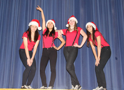In 'The show' were Colleen McCormack, Sophia Rhee, Alexandra Sieb, and Talia Alon.
