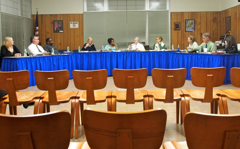 Following the BAC's presentation on Dec. 12, the board of education met on Dec. 13 to discuss the upcoming budget.