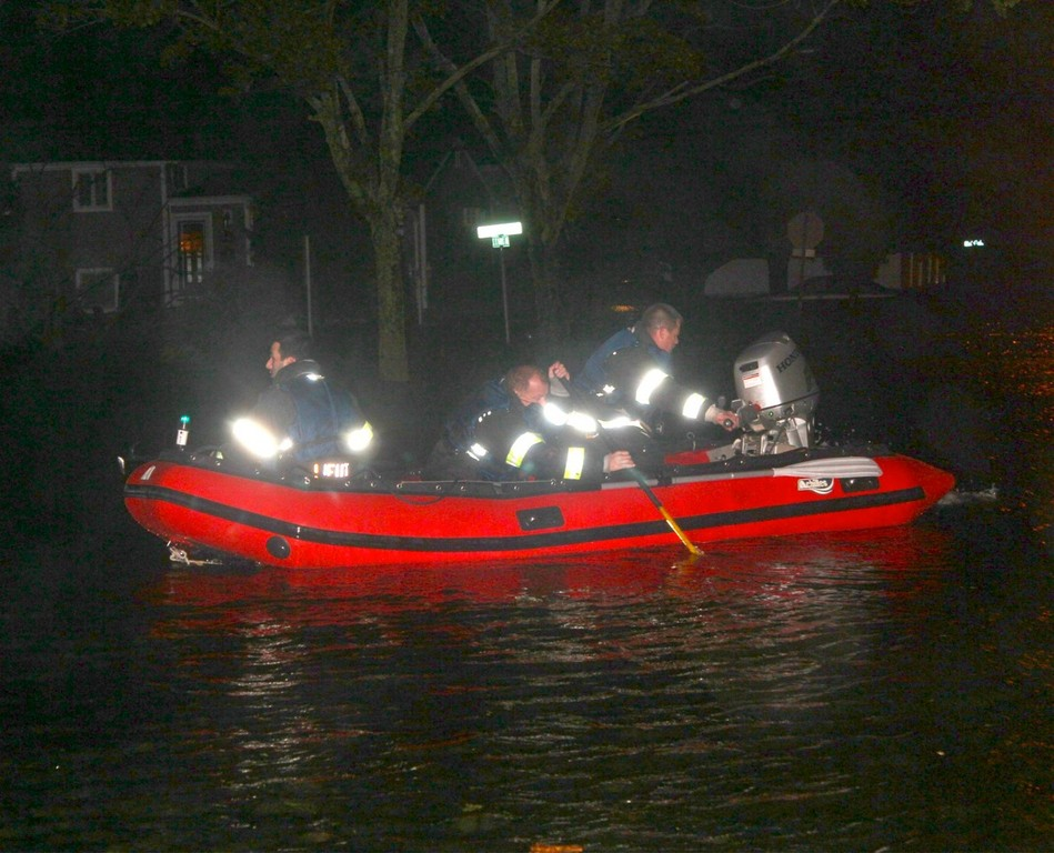Hurricane Sandy pushed Bellmore fire volunteers to their limits, but they came through when it counted.