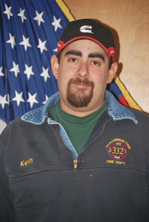 Kevin Carrero, a lifelong resident of Meadowmere Park and the community's fire chief, is the Nassau Herald Person of the Year.