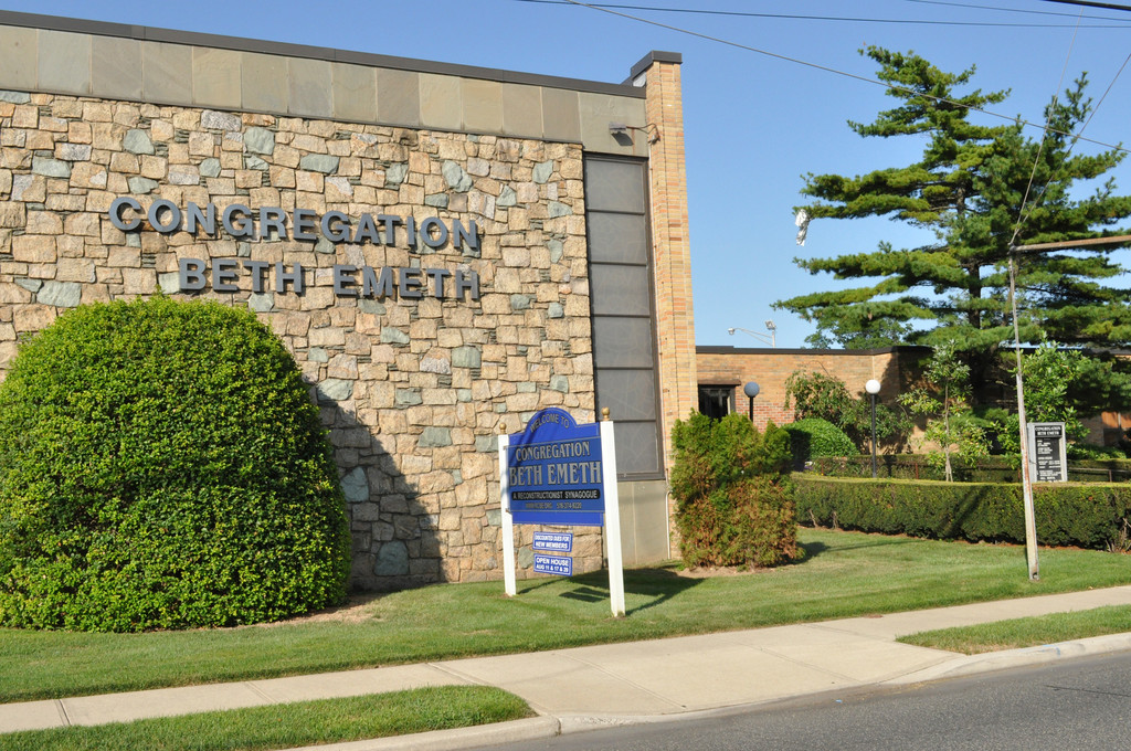 Congregation Beth Emeth in Hewlett sold its Franklin Avenue building to a church group and leased spaced in the Central Synagogue in Rockville Centre.