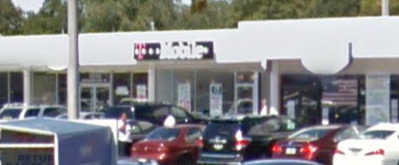 The T-Mobile store in the Peninsula Shopping Center in Hewlett was robbed, police said. The incident is similar to two that occurred in August.