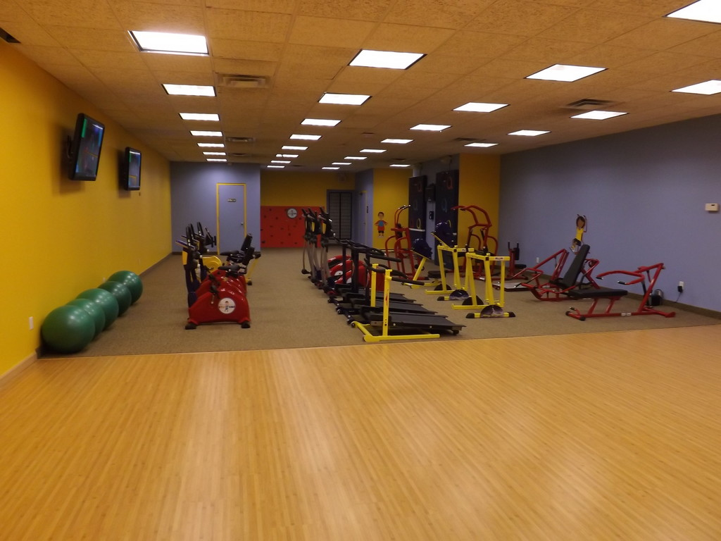 Gym 4 Kidz on Rockaway Avenue, which opened in late November, offers physical fitness classes to children ages 5 to 12.