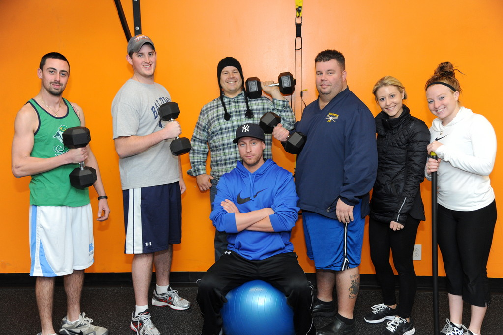 A group of Baldwin's bravest made their New Year's resolutions early. In late October, a number of firemen got together with Kristie Lengel, owner of Baldwin's LEARN Fitness, to drop a few pounds and, more important, make some lasting changes in their eating and exercise habits.