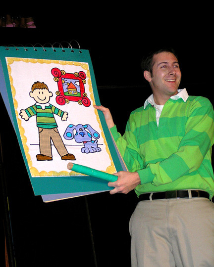 "Join Steve and his puppy Blue when Plaza Theatrical Productions presents ""Blues Clues Live! in Bellmore."