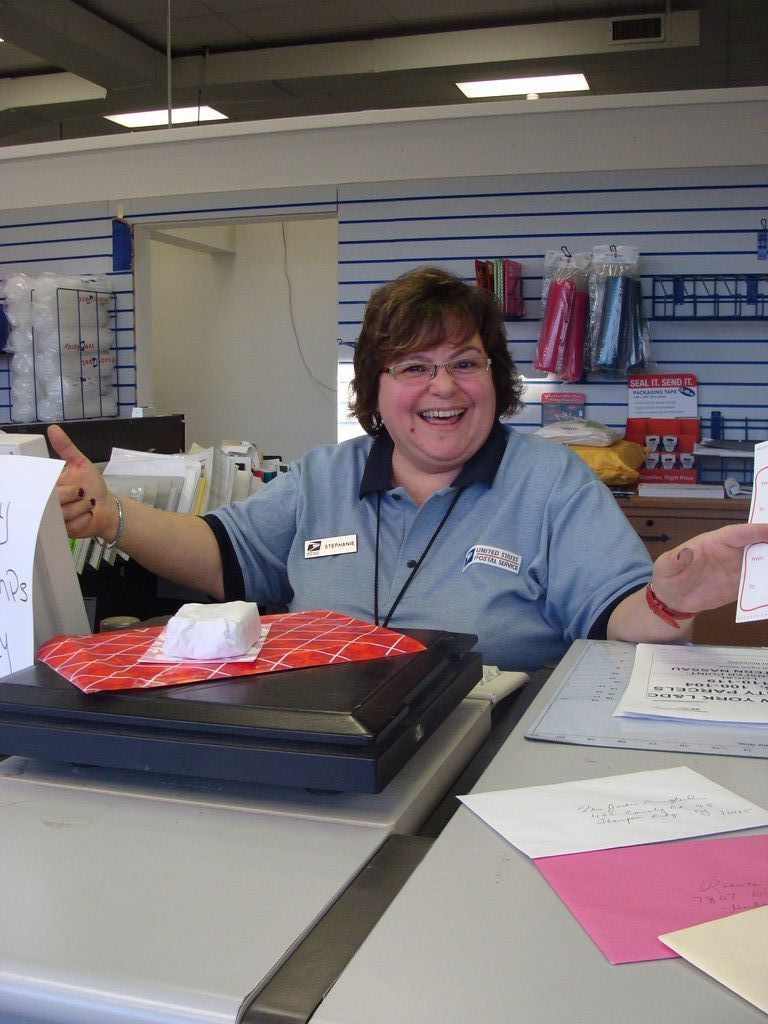 Stephanie Fioretta was happy to be back serving her East Rockaway customers.