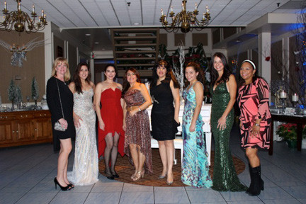 The eight models from the evening were Mary Chin, Lisa Mongan, Ana Escobar, Camille Emmett, Kiera Vassallo, Rosemarie Curran and Tracey Gaffey.
