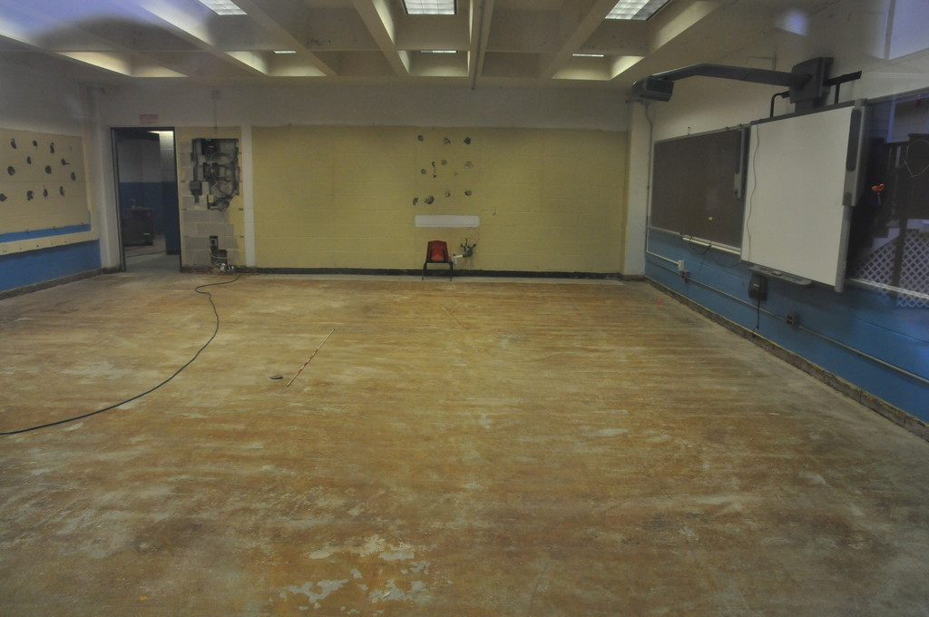 West School sustained significant damage during Hurricane Sandy and remains closed amid repairs.