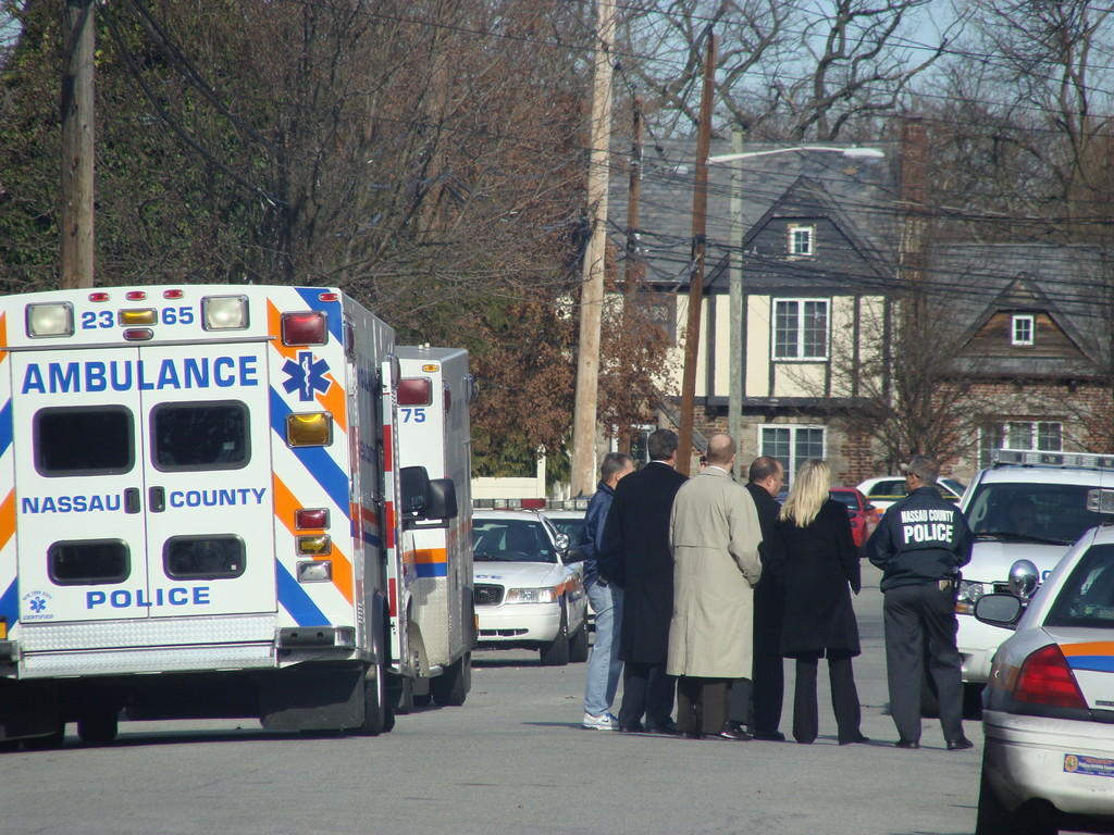 Police are investigating the death of two people found in a home on Catherine Street in North Lynbrook.