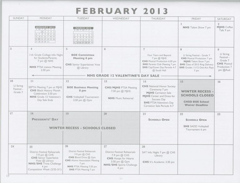 Feb. 15 will now be a regular day of classes for all Valley Stream students, a change from the original school calendar.