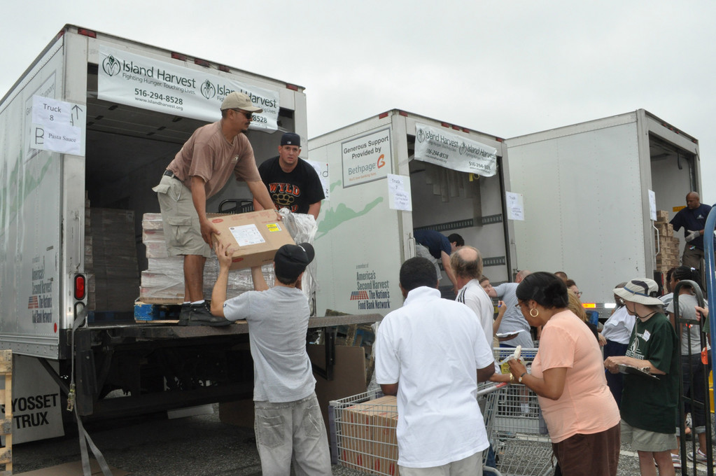 Over the years, Island Harvest has collected and distributed thousands of pounds of food to help feed hungry Long Island residents.