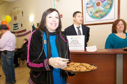 Bonnie Flatow had a nearly endless supply of warm cookies.