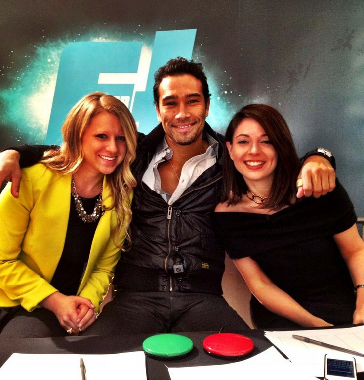 "Judges Jenna Autuori-Dedi, left, and Brett Hoebel joined Allison Cersaso on the second season of ""Fit or Flop."""