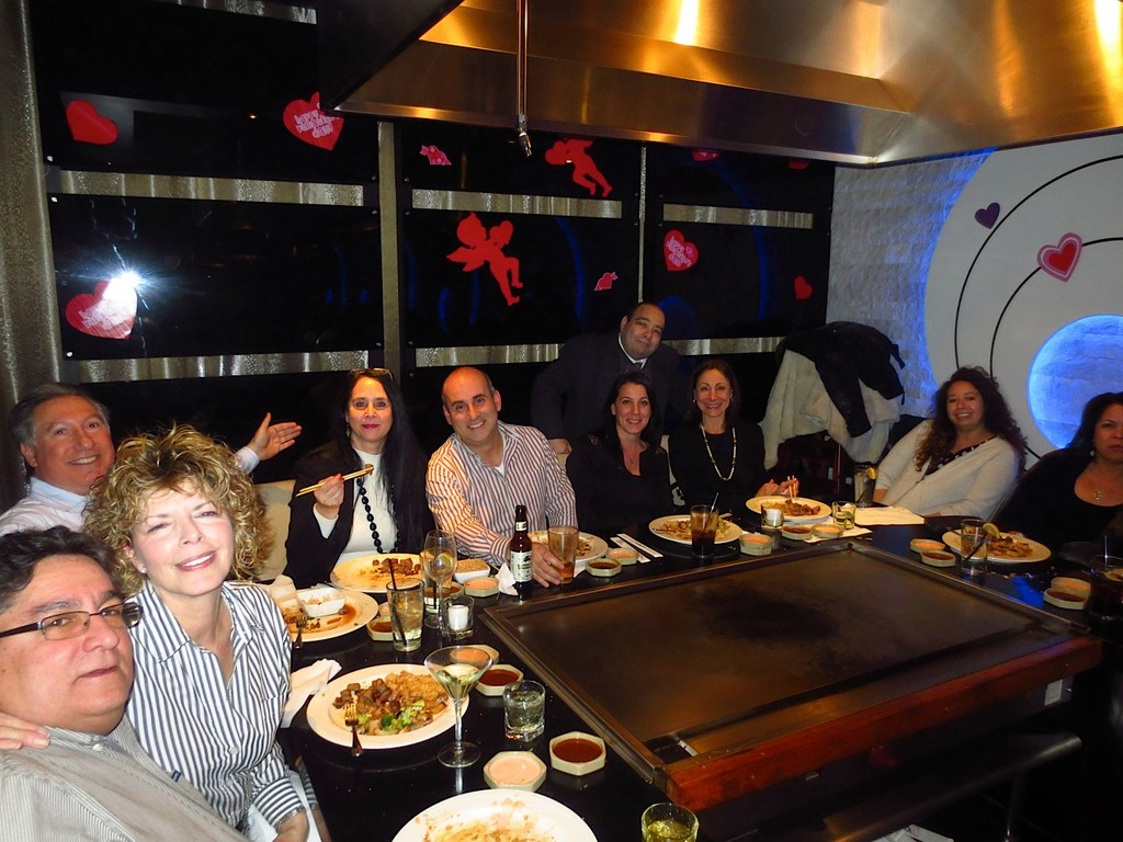 Chamber members enjoyed dinner at Kashi Sushi and Steakhouse in Rockville Centre.