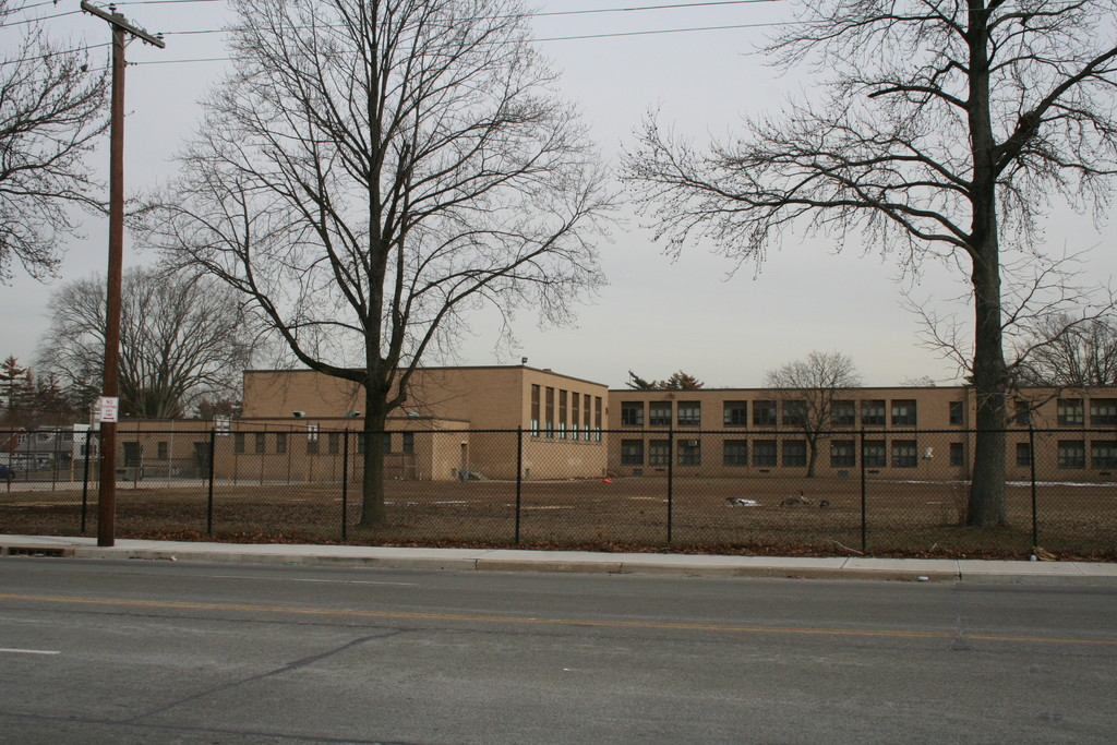The Number Six School could be sold and transformed into a multi-specialty medical practice. The ball fields and recreational space would be paved over for parking.