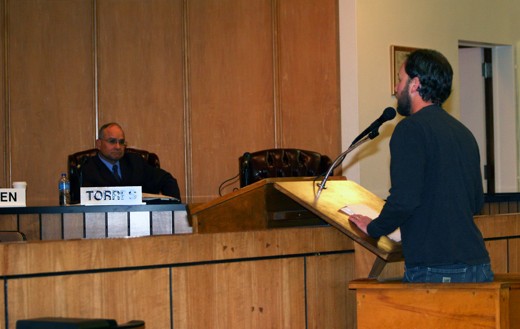 Long Beach Surfer�s Association President Billy Kupferman urged the council to listen to residents.
