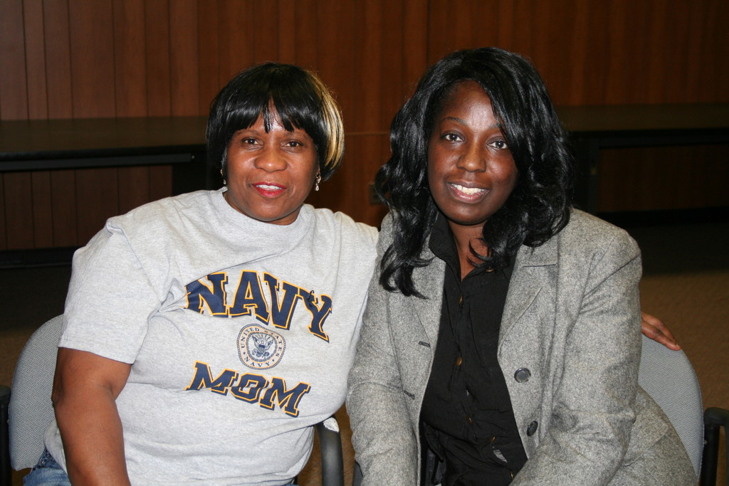 Nassau County Section of the National Council of Negro Women, Inc. members Annie Reyes and Evelyn Jackson are organizing the Black History Month program at the Five Towns Community Center on Feb. 21.
