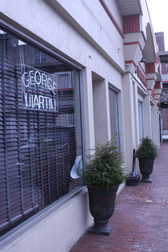 George martin is expanding its main restaurant, adding 40 seats.
