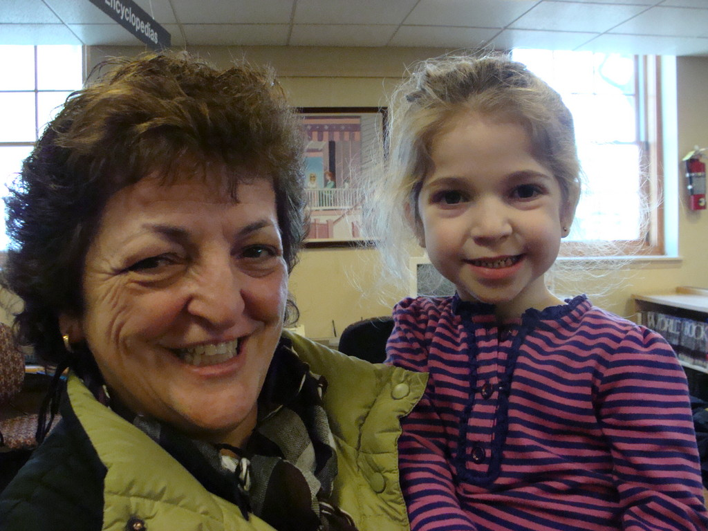 Rosa Soto with granddaughter, Julia