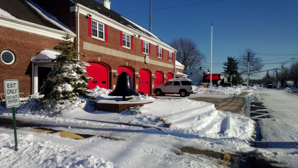 The East Meadow Fire Department headquarters on East Meadow Avenue.
