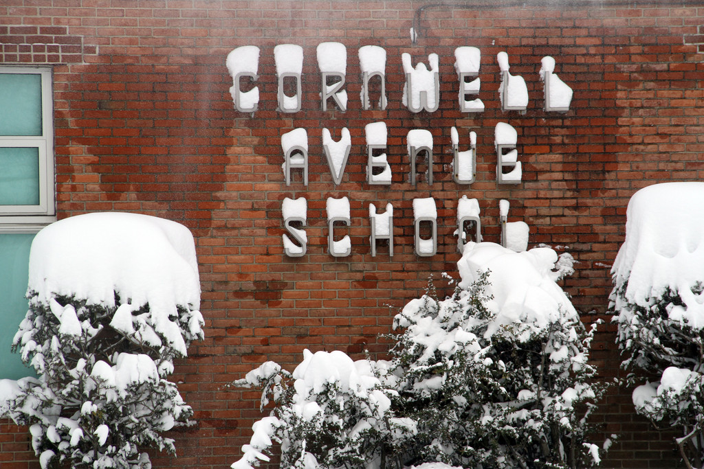 Cornwell Ave School in West Hempstead.