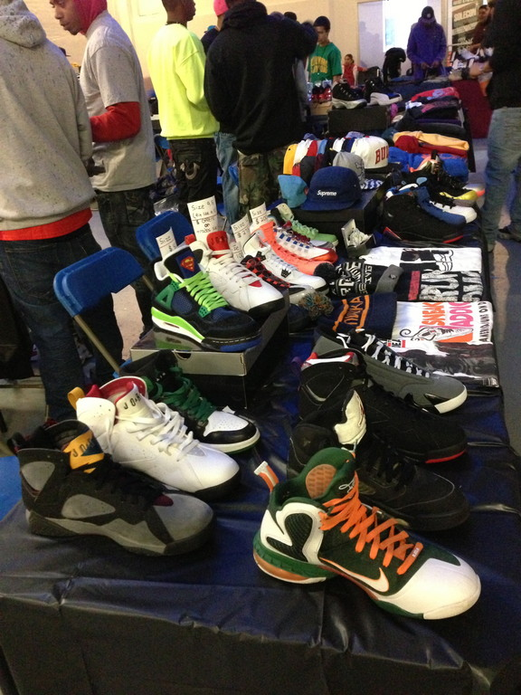 Sneaker enthusiasts use the conventions to buy, sell and trade shoes.