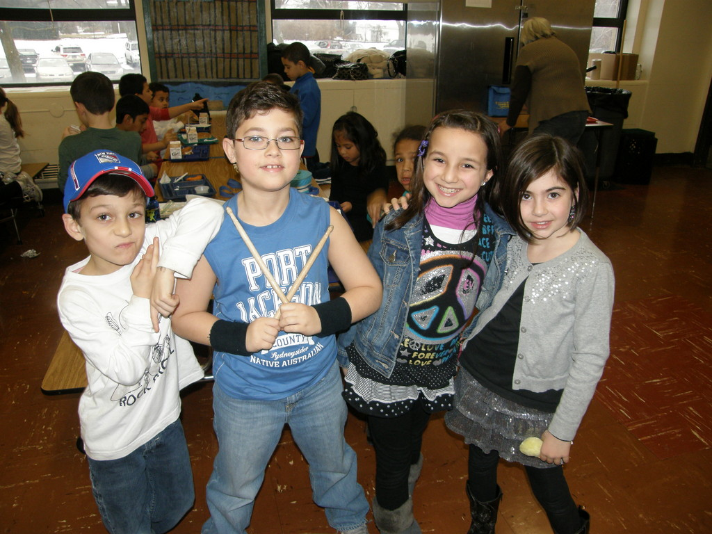 Dress Like a Rock Star Day was one of the theme days at the James A. Dever School during No Name Calling Week.