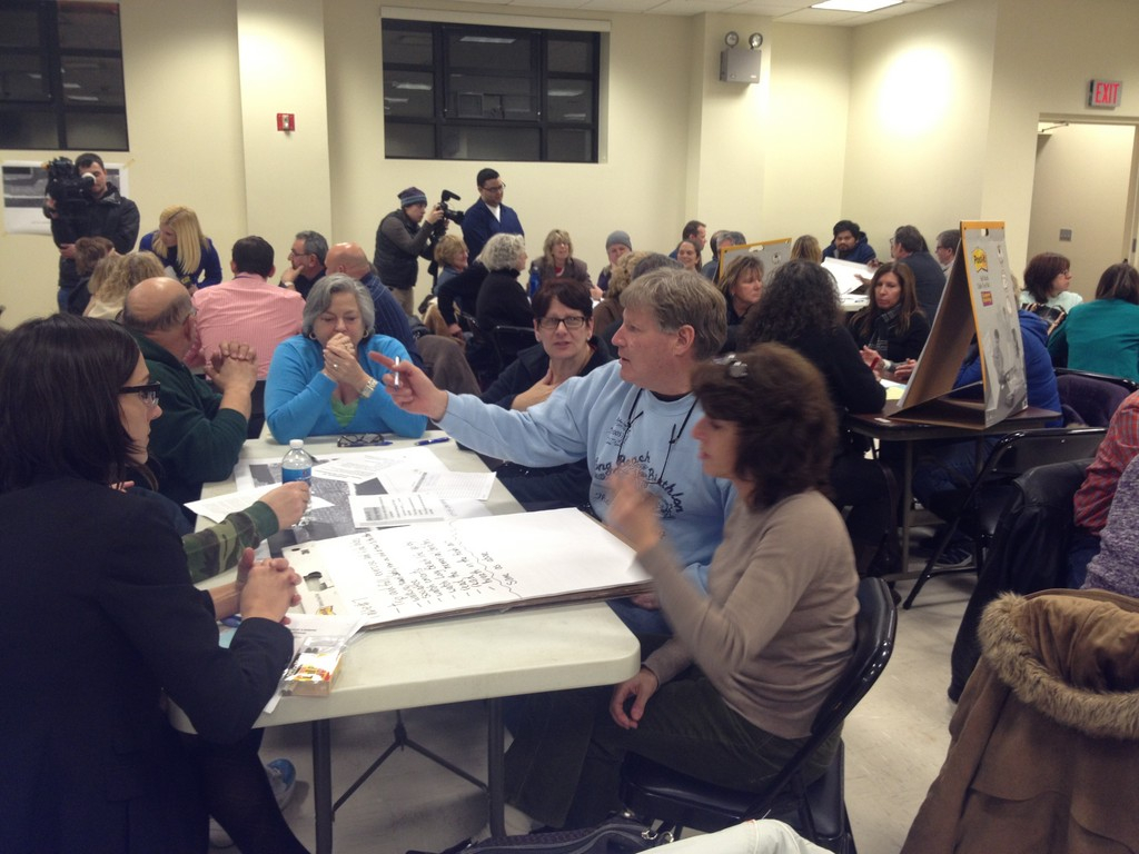 Scott Bochner was among 100 residents at the Feb. 6 focus group meeting.