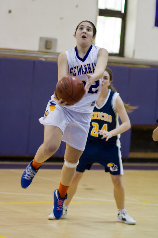 Sewanhaka's Daniella Ford chipped in nine points and seven assists in last Saturday's 71-61 home win over Jericho in a Nassau Class A first-round playoff game.