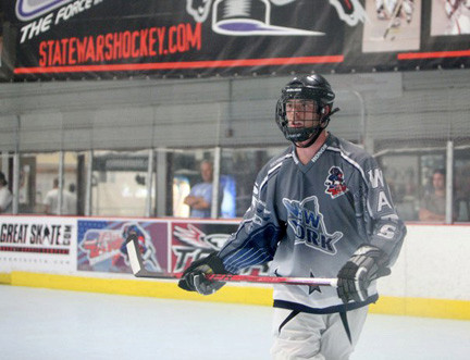 Jeff Kotcher plays in the American Inline Hockey League as part of the Empire State Legends team and has played in tournaments all over the continent.