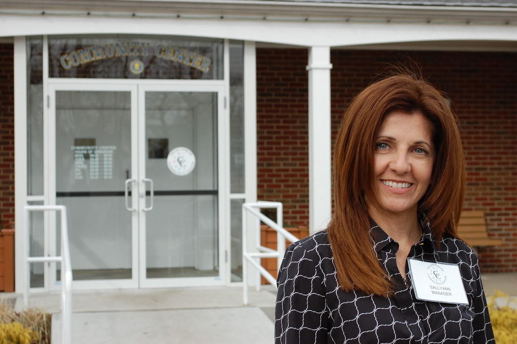 SallyAnn Esposito, who has lived in Valley Stream for more than four decades, is the new manager of the Community Center at Hendrickson Park, formerly the administration building.