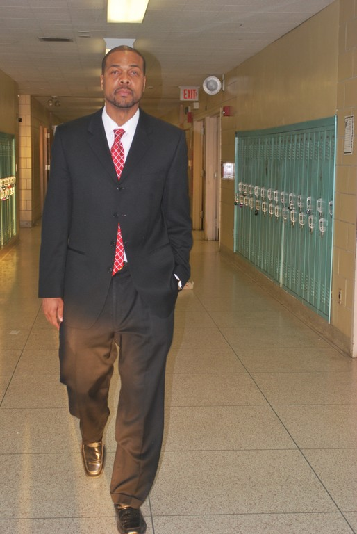 Willis Perry is Lawrence Middle School's new principal. Perry took over from the retired George Akst on Feb. 1.