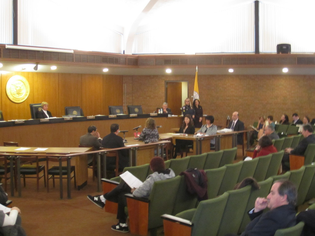 The majority of attendees at a Town of Hempstead Board meeting on Tuesday came to voice concerns about the upcoming redistricting of councilmatic districts.