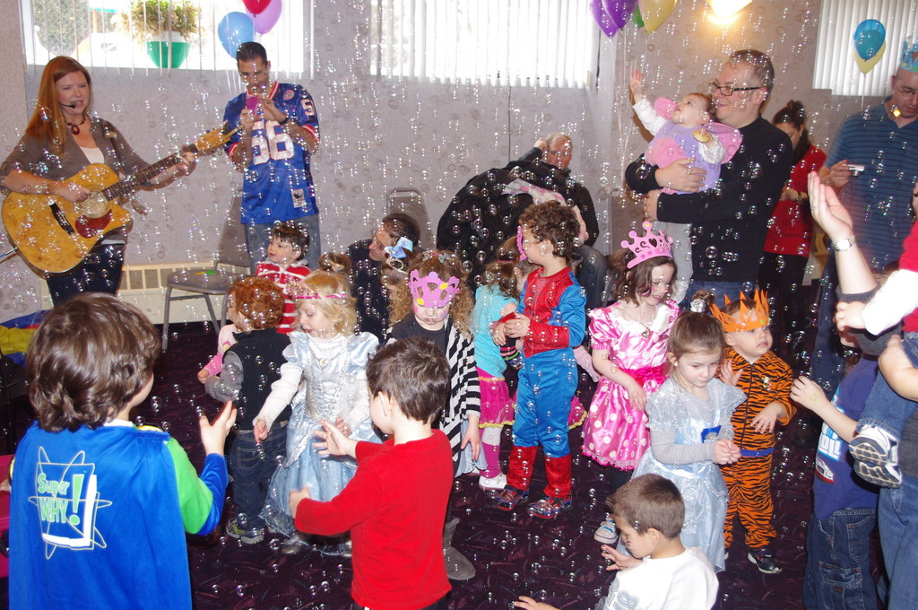 Last year's Purim Party with a PURPOSE raised more than $1,000.