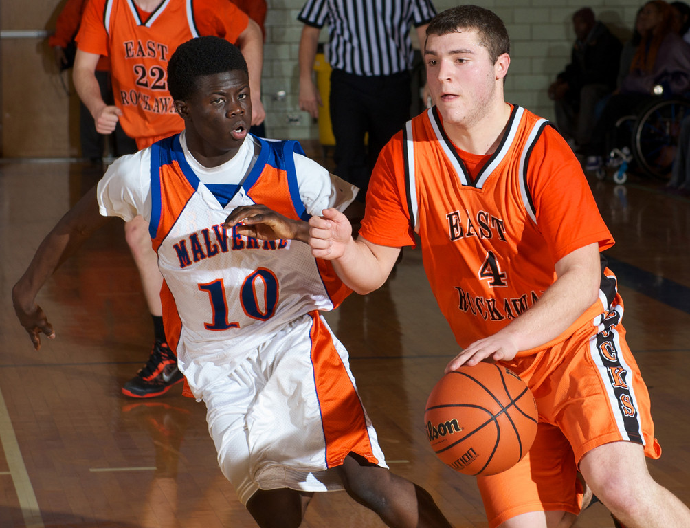 Senior David McClure, right, led the Rocks to the Nassau Class B playoffs and earned Conference B-C Player of the Year honors.