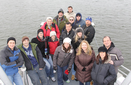 "A crew of Herald Community Newspaper executives, editors and reporters recently took the Riverhead Foundation's ""seal tour"" in the waters off Jones Beach. They were joined by a handful of family members."