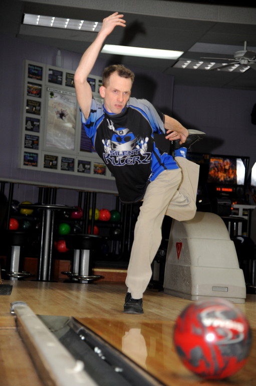 Woodmere resident Kevin Smith won the Long Island Generations Bowling Tour on Feb. 10 at AMF Plainview Lanes. Smith, right, bowls at Woodmere Lanes on Monday nights.