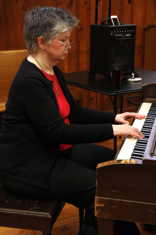 "Jean Stevenson performed ""Solace."""