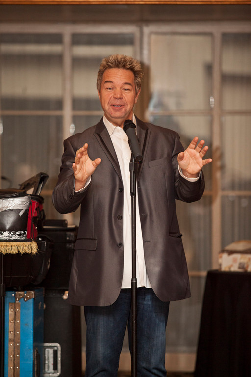 John Pizzi, a comedian and ventriloquist, performed at B�nai Sholom-Beth David�s Evening of Comedy, Cabaret and Community last weekend.