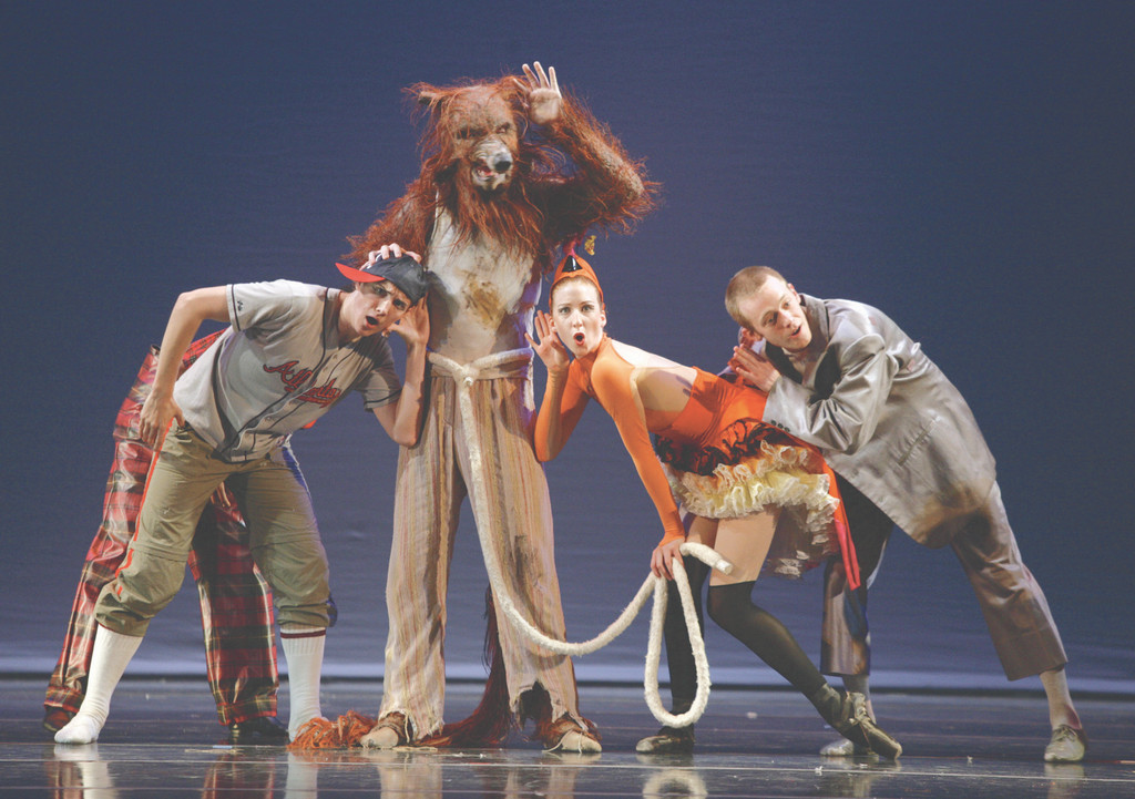 "New York Theatre Ballet performs ""Peter and the Wolf"" at Tilles Center on Saturday."