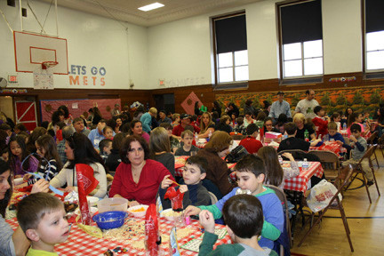 "The gymnasium at Polk Street School was filled with enthusiasm and excitement as students and their parents held ""Wild West Bingo"" night on March 9."