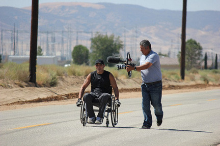 Suheil Aghabi trained for his 3,330 mile cross-country roll from L.A. to his hometown.