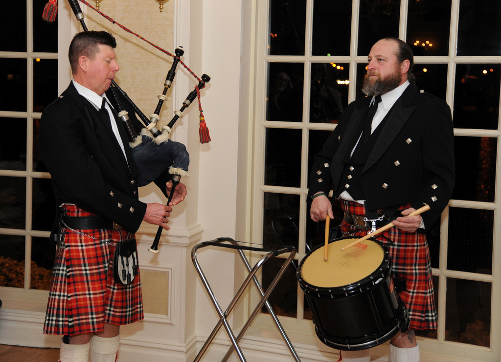 Peter Ledwith and Kevin McTieg provided entertainment